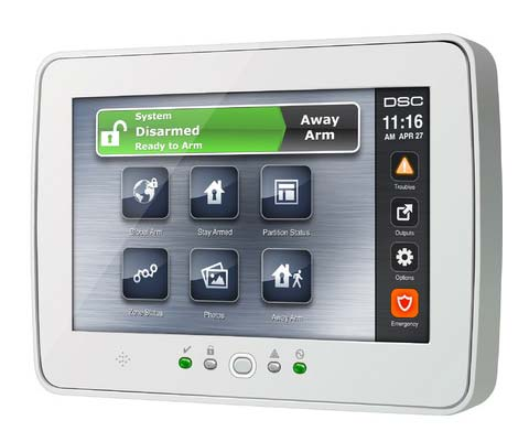 DSC Security System Interface